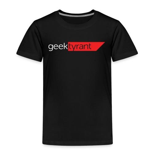 TODDLER T-shirt  // GeekTyrant RED Logo - Toddler Premium T-Shirt