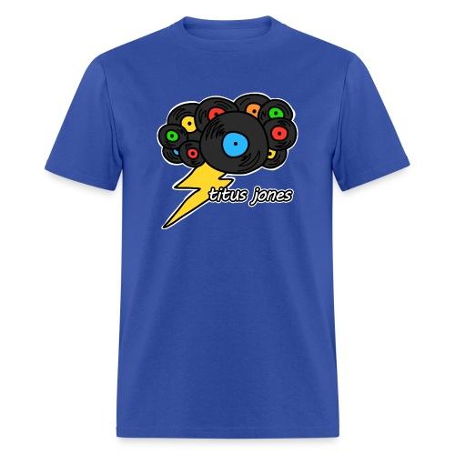 TJ Record Cloud - Men's T-Shirt