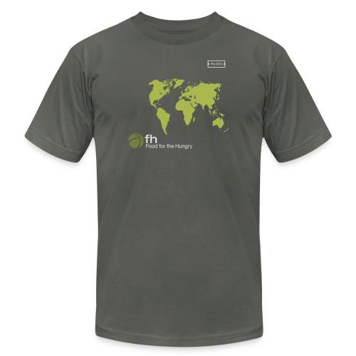 FH Map Green - Men's  Jersey T-Shirt