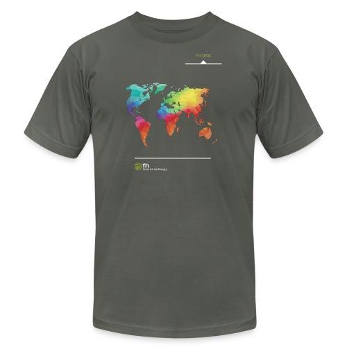 FH Map 1 - Men's Fine Jersey T-Shirt