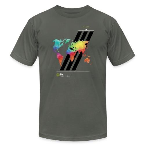FH Map 2 - Men's Fine Jersey T-Shirt