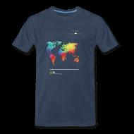 T-Shirts ~ Men's Premium T-Shirt ~ FH Map 1