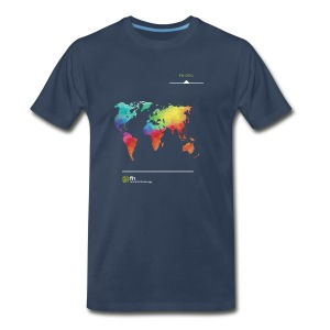FH Map 1 - Men's Premium T-Shirt