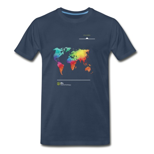 FH Map 1 - Men's Premium T-Shirt
