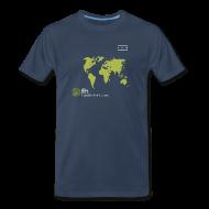T-Shirts ~ Men's Premium T-Shirt ~ FH Map Green
