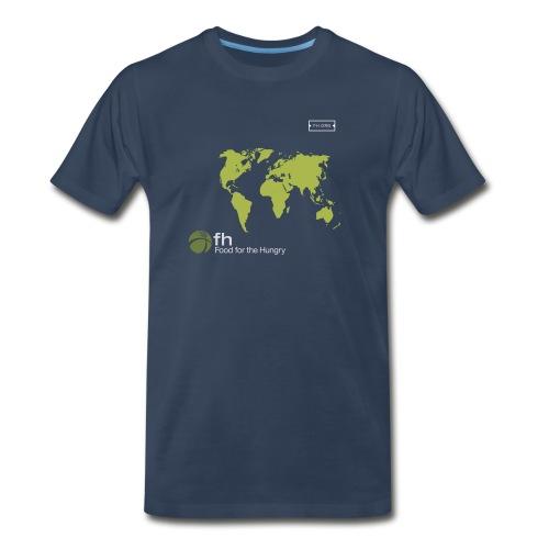 FH Map Green - Men's Premium T-Shirt