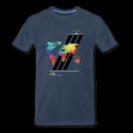 T-Shirts ~ Men's Premium T-Shirt ~ FH Map 2