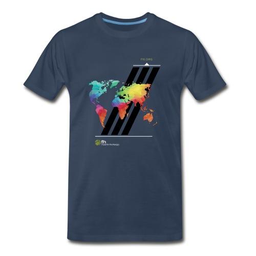 FH Map 2 - Men's Premium T-Shirt