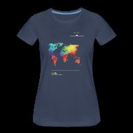 Women's T-Shirts ~ Women's Premium T-Shirt ~ FH Map 1
