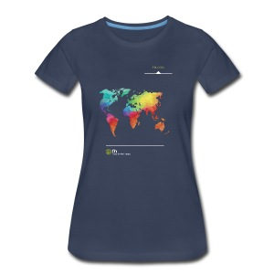 FH Map 1 - Women's Premium T-Shirt