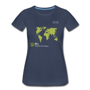 FH Map Green - Women's Premium T-Shirt