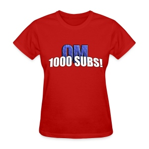 1000 Subs - Standard Quality Men's T-Shirt (Gildan) - Women's T-Shirt