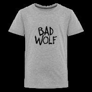 Kids' Shirts ~ Kids' Premium T-Shirt ~ Bad Wolf - Doctor Who  | Robot Plunger