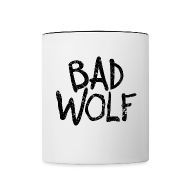 Mugs & Drinkware ~ Contrast Coffee Mug ~ Bad Wolf - Doctor Who  | Robot Plunger