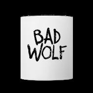 Mugs & Drinkware ~ Contrast Coffee Mug ~ Bad Wolf - Doctor Who  | Robot Plunger
