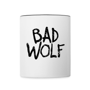 Bad Wolf - Doctor Who  | Robot Plunger - Contrast Coffee Mug