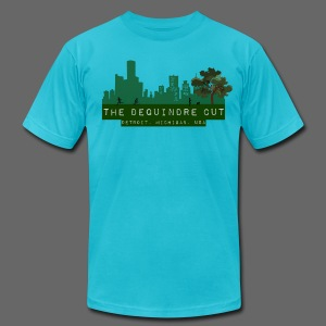 The Dequindre Cut - Men's T-Shirt by American Apparel