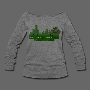 The Dequindre Cut - Women's Wideneck Sweatshirt