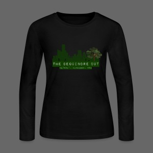The Dequindre Cut - Women's Long Sleeve Jersey T-Shirt