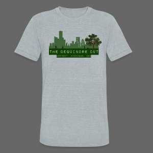 The Dequindre Cut - Unisex Tri-Blend T-Shirt by American Apparel