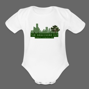 The Dequindre Cut - Short Sleeve Baby Bodysuit