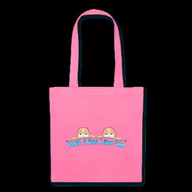 Peek a Boo I See You Baby Boo Twins Bags & backpacks