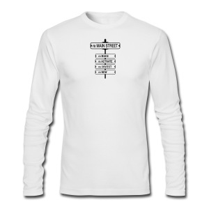 reMain St (BK) - Men's Long Sleeve T-Shirt by Next Level