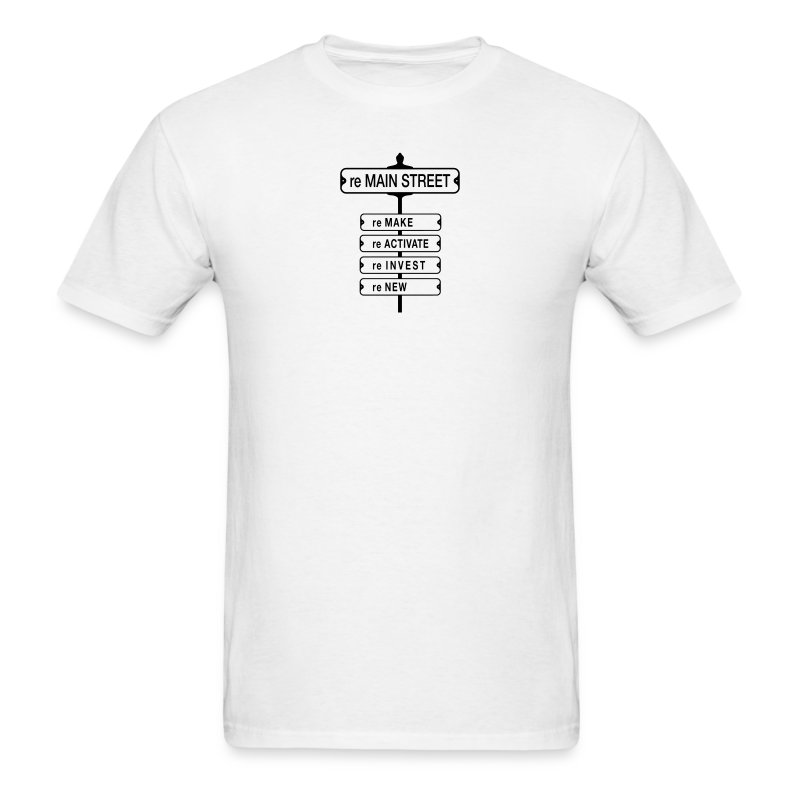 reMain St (BK) - Men's T-Shirt
