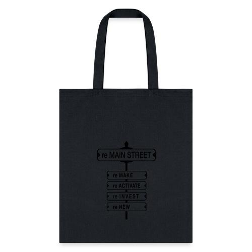 reMain St  - Tote Bag