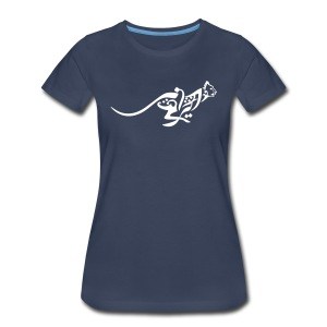 Blazing Cheetah Basic Womens' Tee - Women's Premium T-Shirt