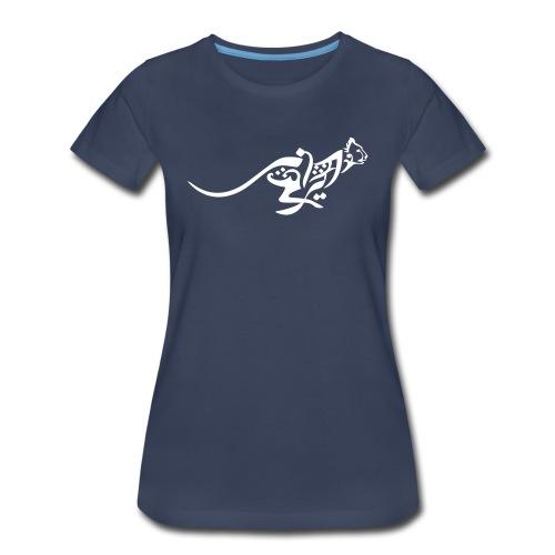 Blazing Cheetah Basic Womens' Tee - Women's Premium T-Shirt