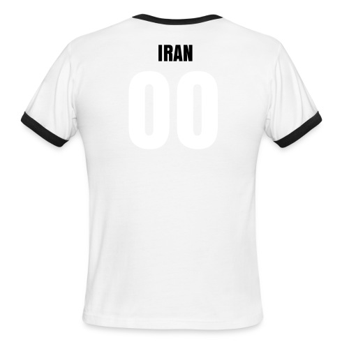 IRAN F.C. - Classic Ringer Tee + Name & Number on back - Men's Ringer T-Shirt