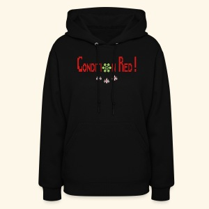 Condition Red (free shirtcolor selection) - Women's Hoodie