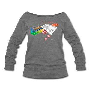 collage500 (free shirtcolor selection) - Women's Wideneck Sweatshirt