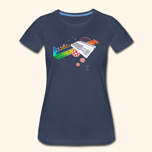 collage500 (free shirtcolor selection) - Women's Premium T-Shirt