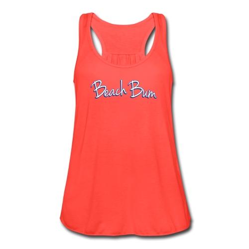 Beach Bum - Women's Flowy Tank Top by Bella