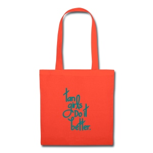 Tan Girls Do It Better - Tote Bag