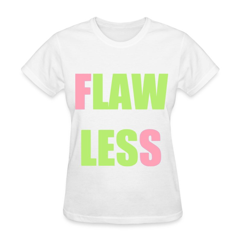 FLAWLESS - Pink & Green - Women's T-Shirt