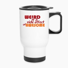 Weird is Awesome Bottles & Mugs