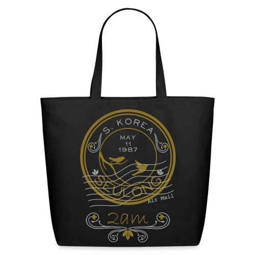 Ong Ong Air Mail - 2am  - Eco-Friendly Cotton Tote