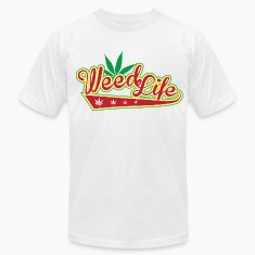 8 70's Weed - Red T-Shirts