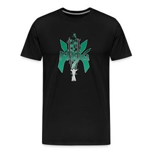 KK_Rina Channel Logo Inverted Colors - Men's Premium T-Shirt