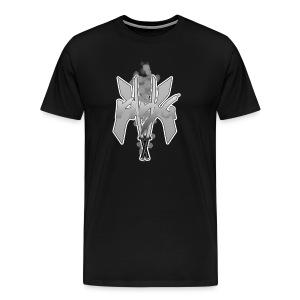 KK_Rina Channel Logo Black and White - Men's Premium T-Shirt