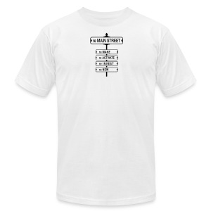 reMain St (BK) - Men's T-Shirt by American Apparel