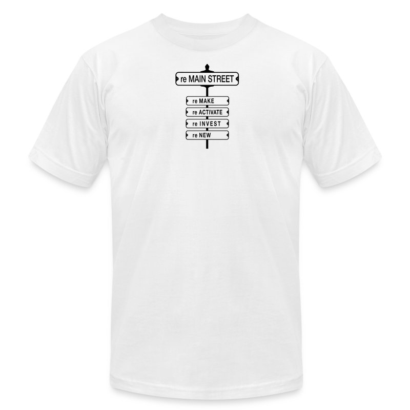 reMain St (BK) - Men's Fine Jersey T-Shirt