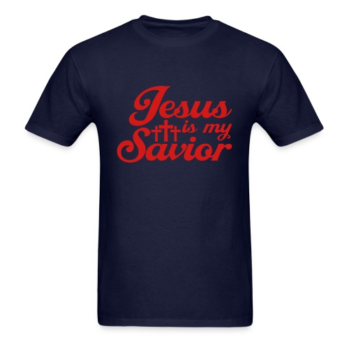 Jesus is my Savior - Men's T-Shirt