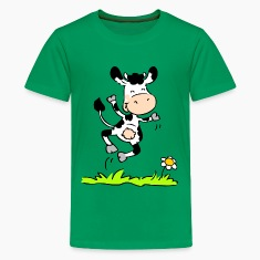 Joyious Cow Kids' Shirts