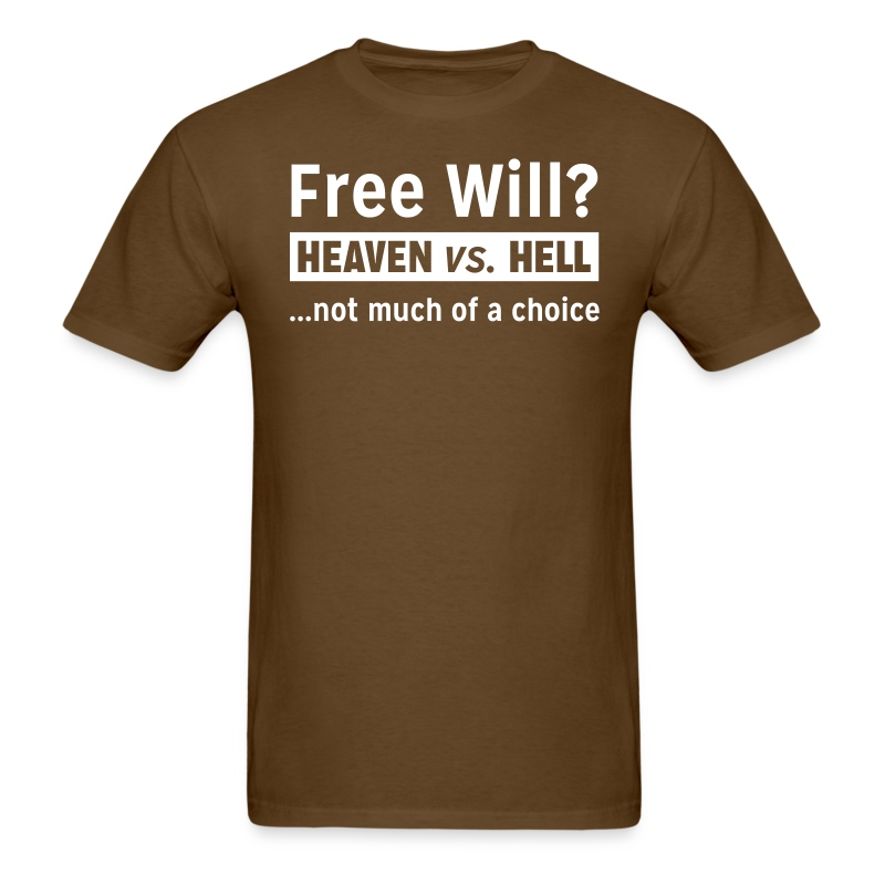 Free Will - Men's T-Shirt