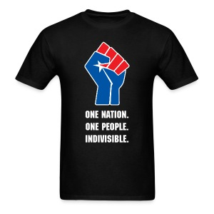 One Nation. One People. Indivisible. - Men's T-Shirt