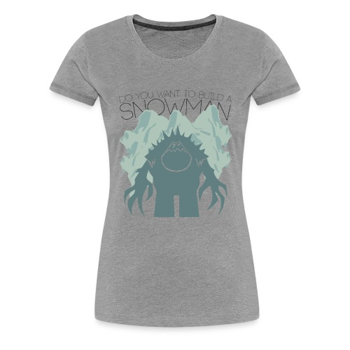 Women's Premium T-Shirt - Logo created by Josh Ward. Check him out: http://jwardstudios.com/